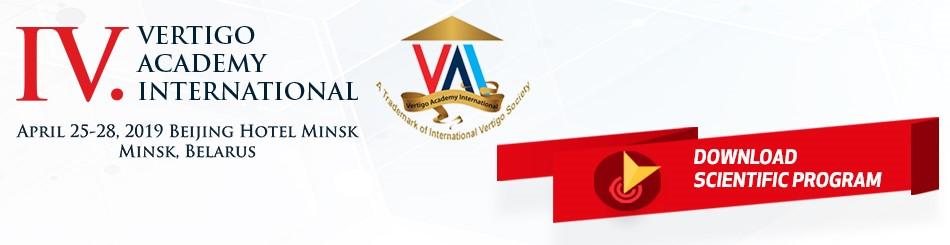 Vertigo Academy International – IV Meeting (25-28 April, 2019 - Minsk)